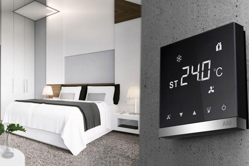 Новый сенсорный терморегулятор ABB i-bus® KNX