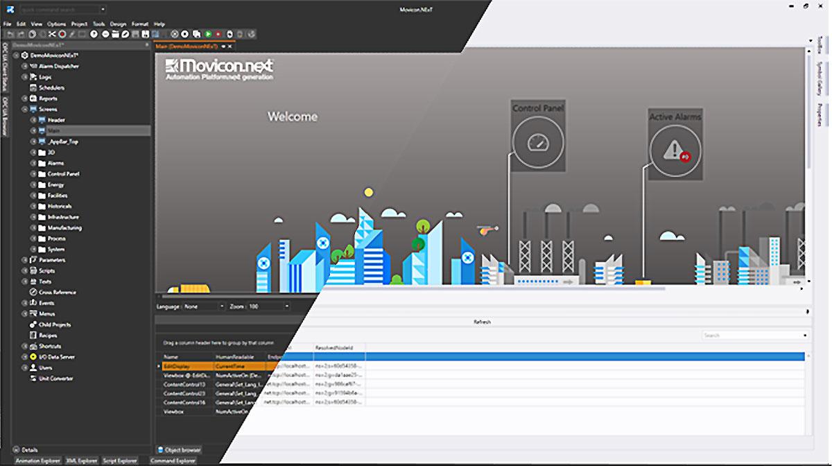 Обновление Movicon.Next до версии 4.0